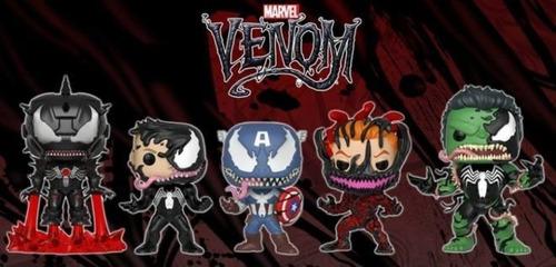 funko pop - spiderman - iron man -  hulk  - venom - carnage