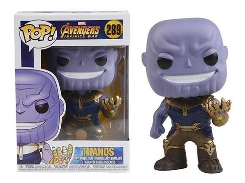 funko pop -  spiderman - iron man -  thanos - infinity war
