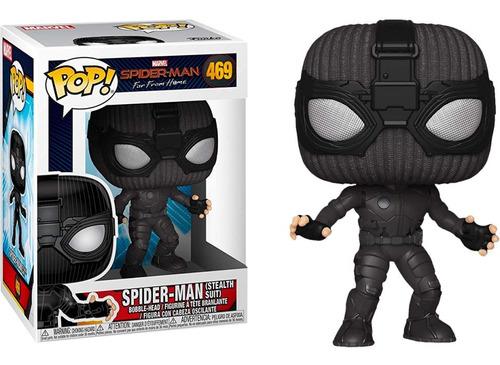 funko pop spiderman spider-man (stealth suit)