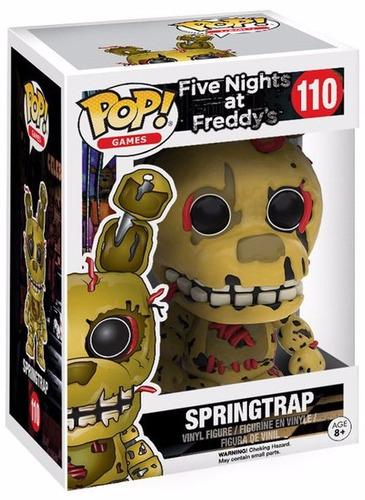 funko pop springtrap five nights at freddy's figura coleccio