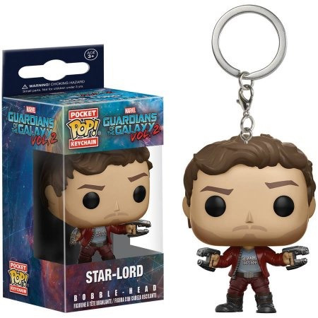 funko pop star-lord preventa llavero guardians of the galaxy