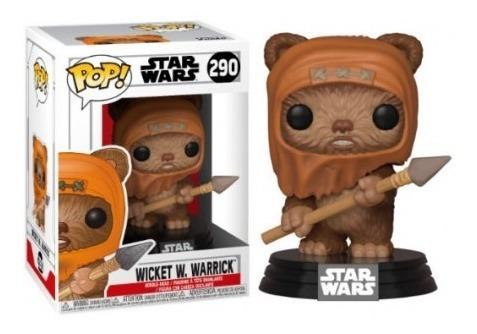 funko pop star wars 290 wicken w. warrick nuevo magic4ever