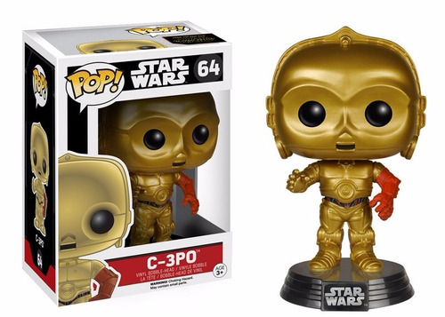 funko pop! star wars episodio 7 - c-3po