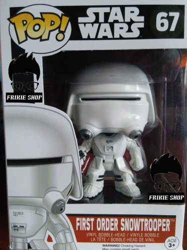 funko pop: star wars: first order snowtrooper #67