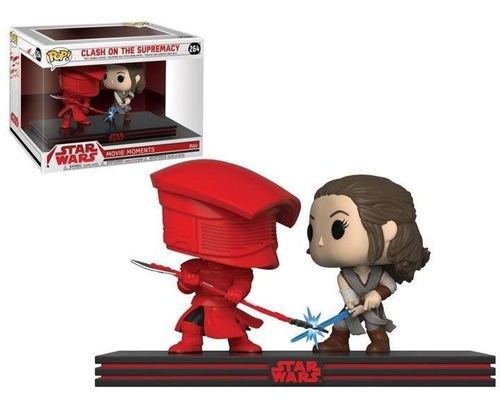 funko pop! star wars - rey & praetorian 264