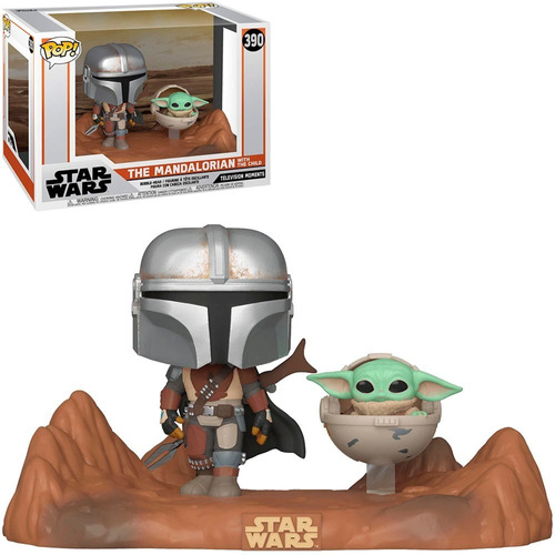 funko pop star wars the mandalorian with the child 390