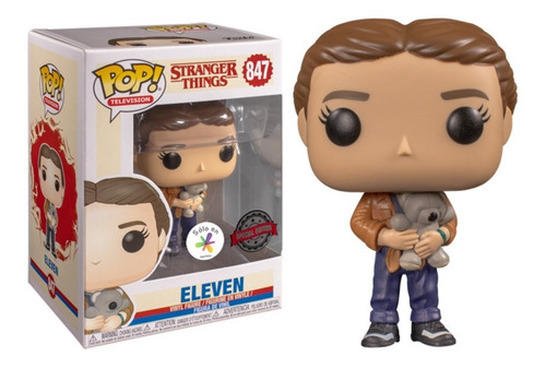 funko pop! stranger things - eleven (exclusivo de aquistar)