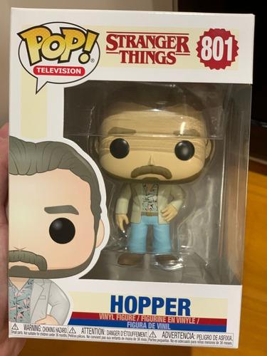 funko pop! stranger things - hopper #801