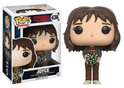 funko pop! stranger things- joyce #436 - with lights edition