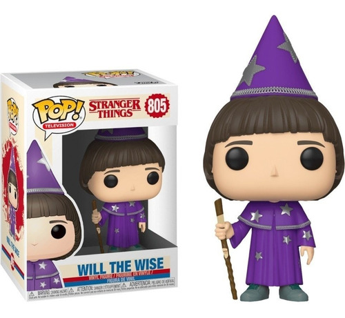 funko pop stranger things will the wise 805 original stock