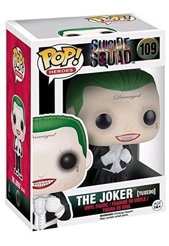 funko pop! suicide squad #109 the joker (tuxedo)  buho store