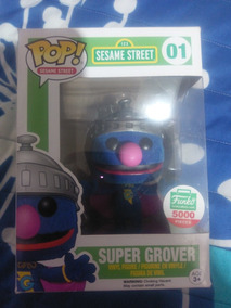 Funko Pop Super Grover Sesame Street Flocked