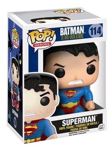funko pop superman #114 batman the dark knight returns