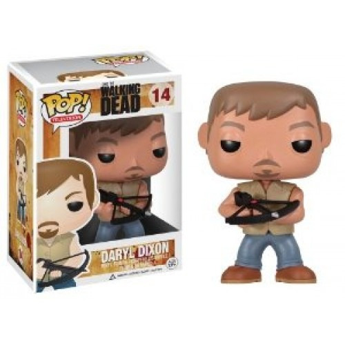funko pop television #14 walking dead daryl dixon nortoys