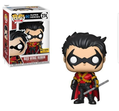 funko pop television #274 red wing robin exclusive nortoys