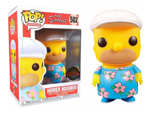 funko pop television #502 simpsons homer muumuu nortoys