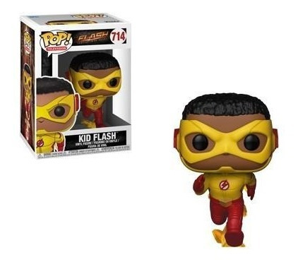 funko pop television #714 flash serie kid flash nortoys
