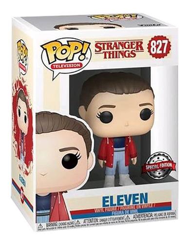 funko pop television #827 stranger things eleven nortoys