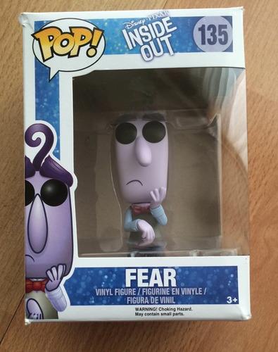 funko pop temor fear intensamente inside out disney pixar