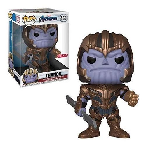 funko pop - thanos  - avengers - endgame - hulk -  spiderman