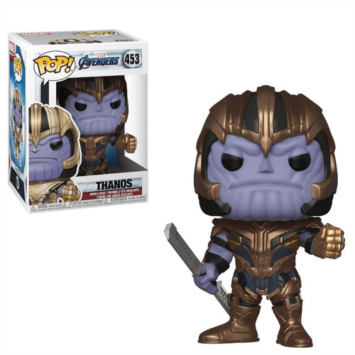 funko pop thanos marvel avengers 453 original - minijuegos