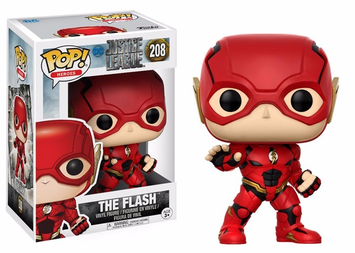 Vinyl-DC Comics-The Flash 10 cm Funko POP