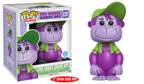 funko pop the great grape ape hanna barbera simio exclusivo
