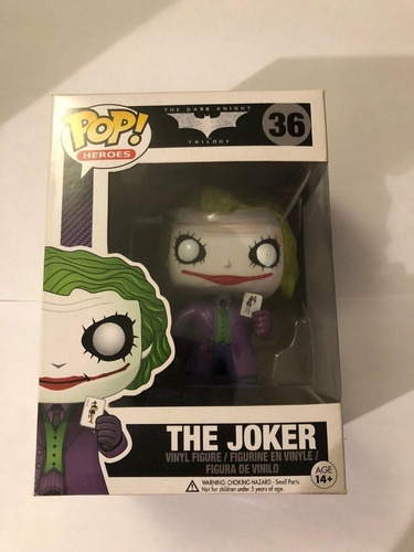 funko pop the joker #36 - the dark knight batman