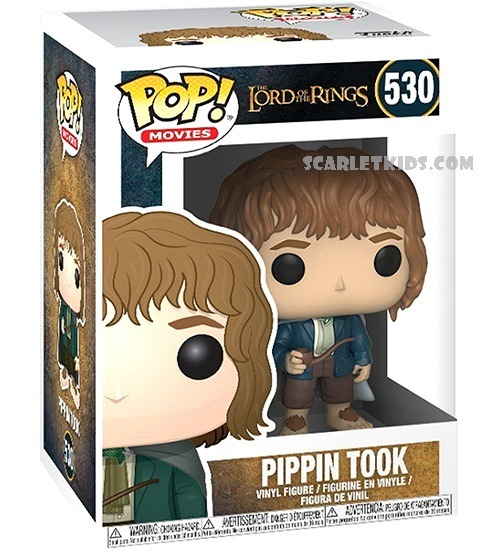 Lord Of The Rings Pippin Took Pop New in stock Vinyl Figure 530