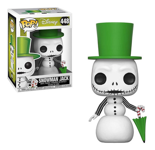 funko pop - the nightmare before christmas - snowman jack