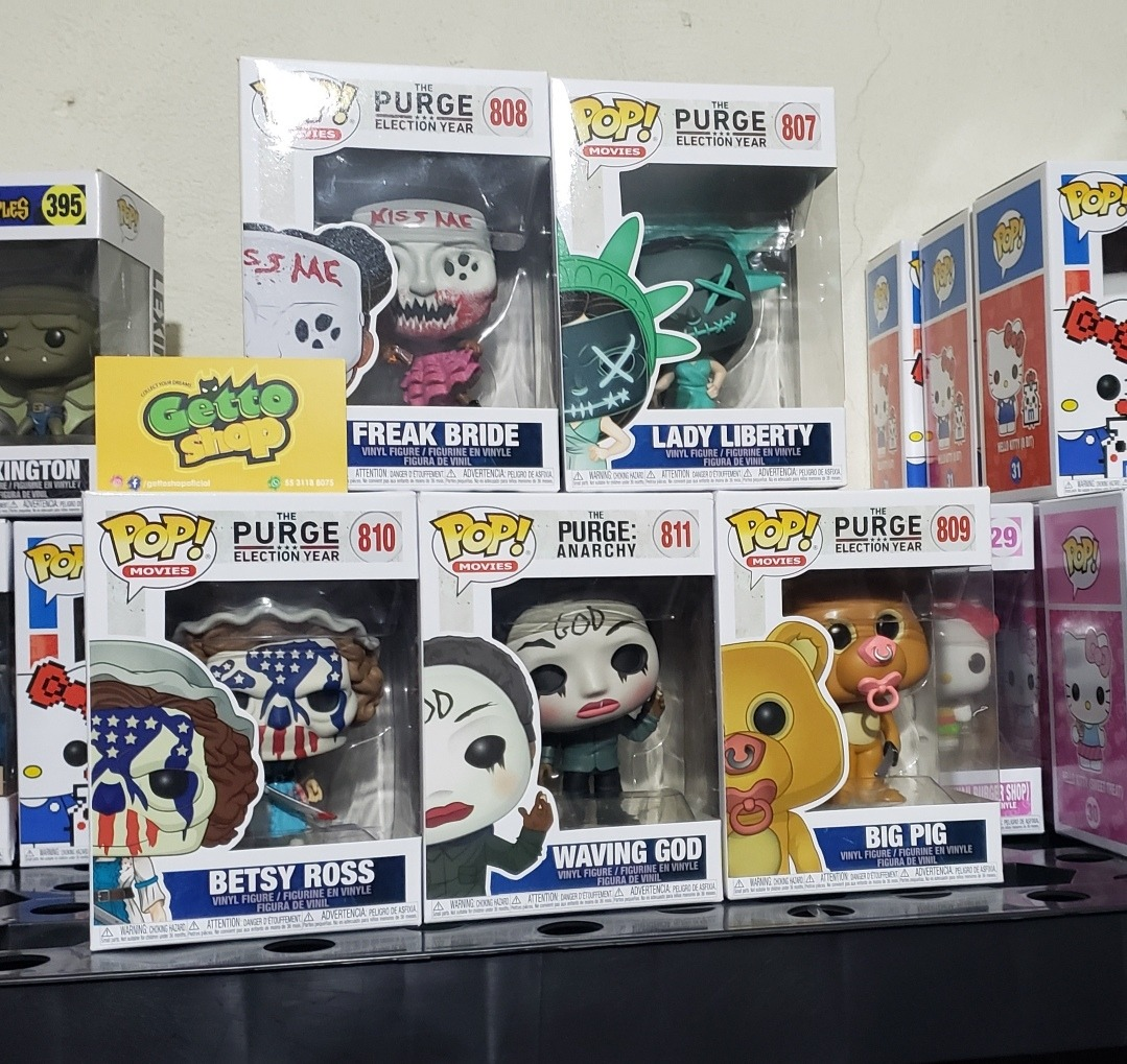 BIG PIG-La purge Funko Pop Vinyle