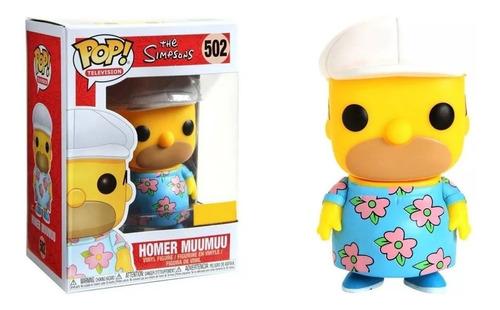 funko pop - the simpsons: homer muumuu #502 special edition