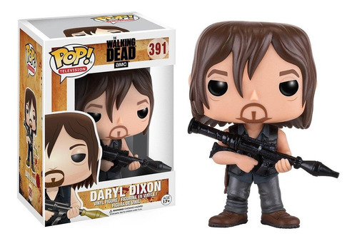 funko pop - the walking dead - daryl dixon #391 original