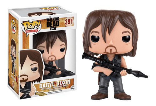 funko pop the walking dead daryl dixon 391 orignal nuevo