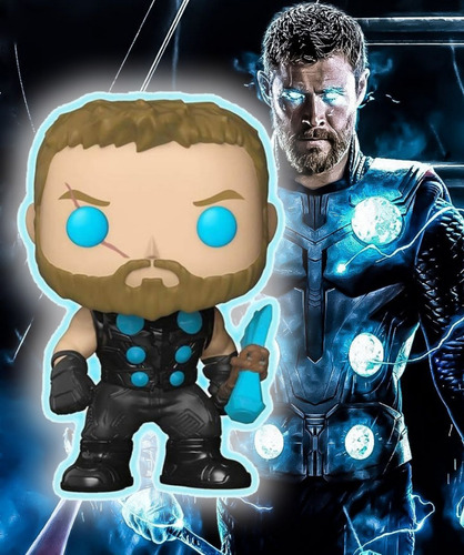 funko pop thor #286 (glow in the dark), marvel