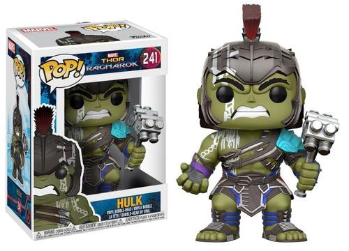 funko pop! thor ragnarok - hulk #241 - bobble-head