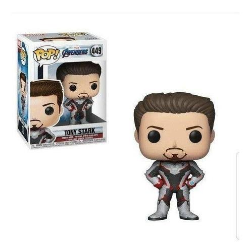 funko pop tony stark 449 avengers endgame marvel baloo toys