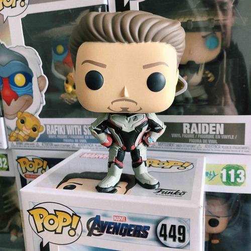 funko pop tony stark avengers endgame #449 iron man