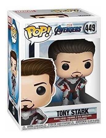 funko pop tony stark avengers - marvel número 449