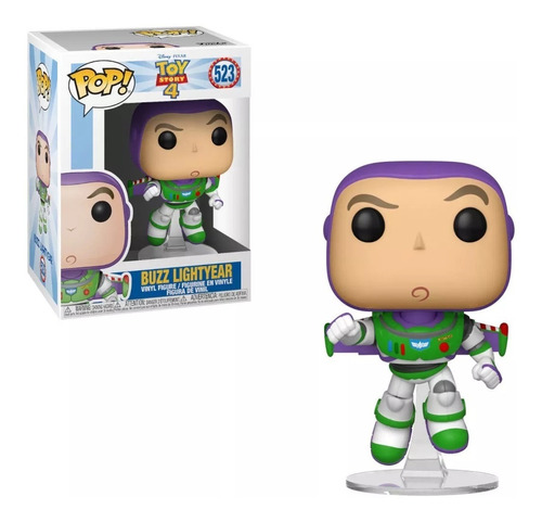 funko pop toy story 4 buzz lightyear #523 muñeco original