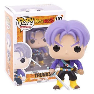 funko pop trunks #107 dragon ball z figura