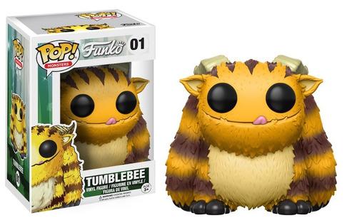 funko pop tumblebee monsters de funko shop exclusivo sticker