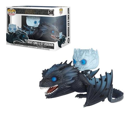 funko pop! tv: game of thrones - night king on dragon