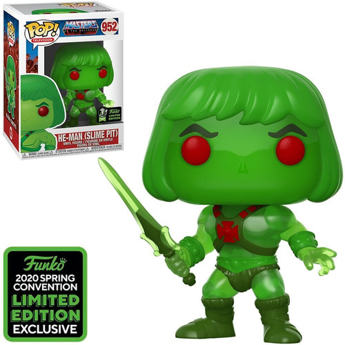 funko pop tv masters of the universe eccc 2020 - he-man  952