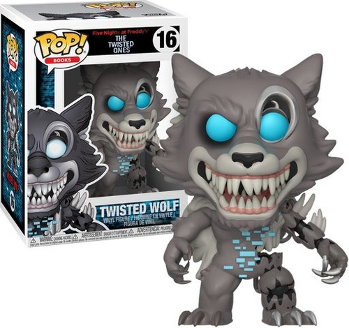 funko pop twisted wolf five nights at freddys-minijuegosnet