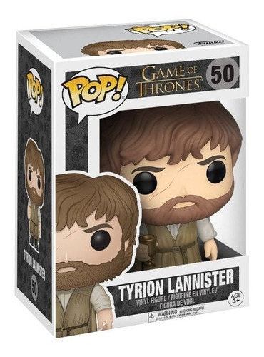 funko pop tyrion lannister 50 game of thrones got original