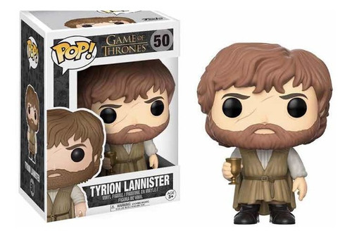 funko pop tyrion lannister (with cup) got
