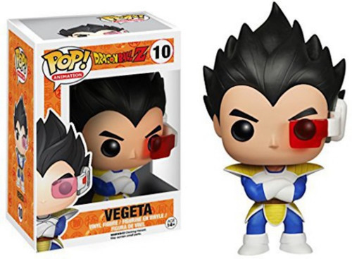 funko pop vegeta dragon ball z anime