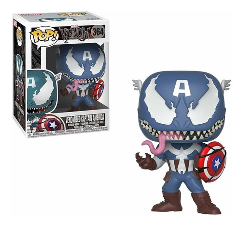 funko pop venomized captain america 364 - venom