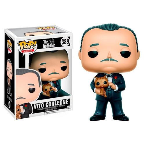 funko pop vito corleone #389 the godfather muñeco original
